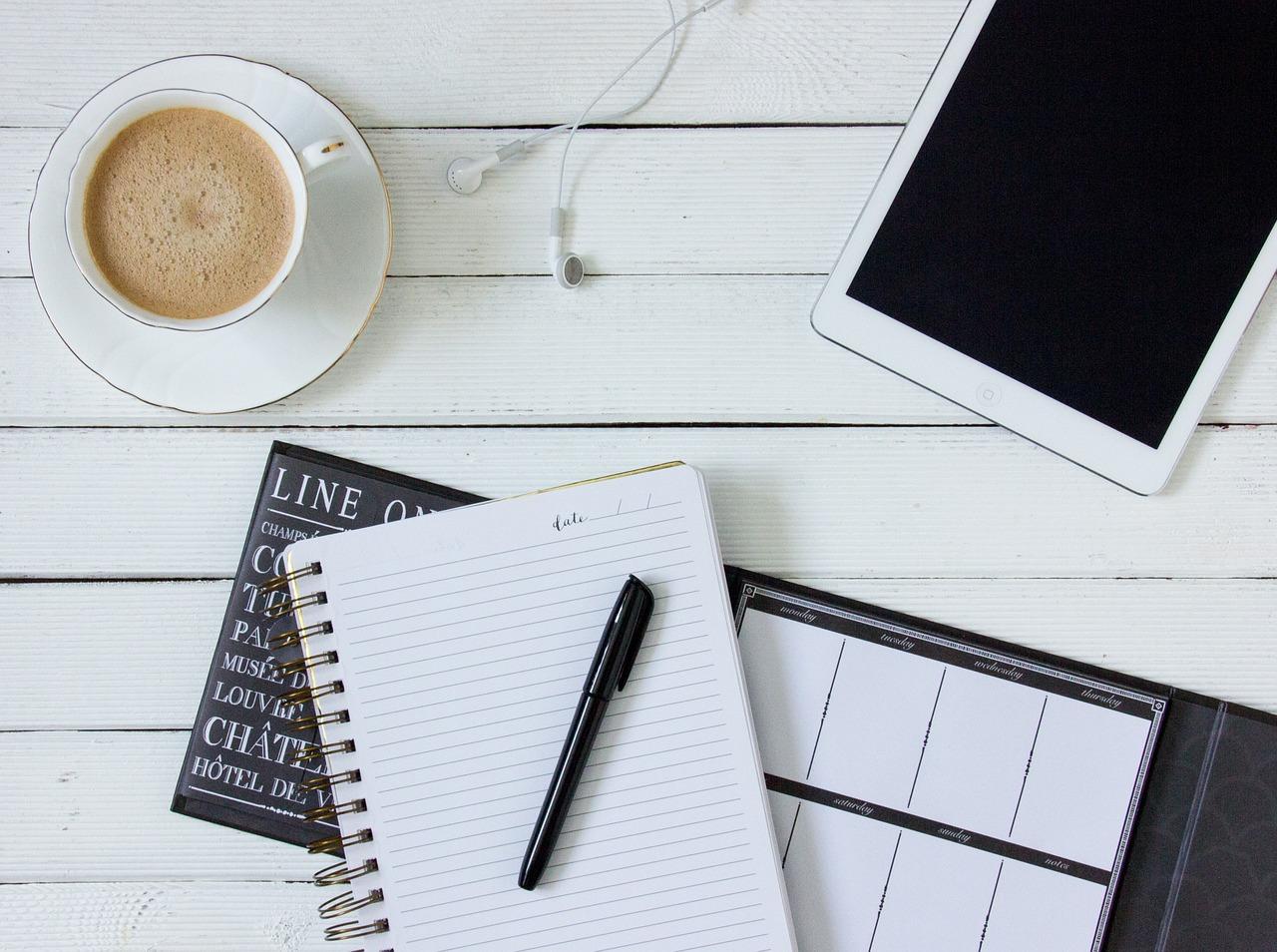 O poder do caderninho de anotações. Veja porque você deve anotar tudo o que tem que fazer