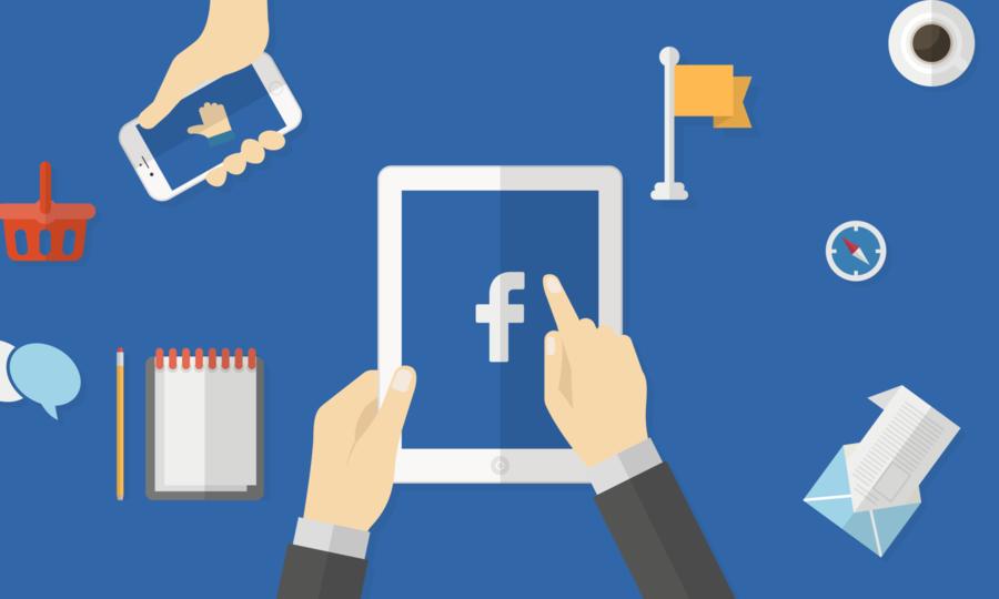 Facebook da empresa