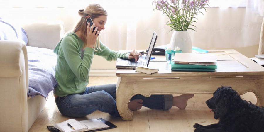 Trabalhar em casa
