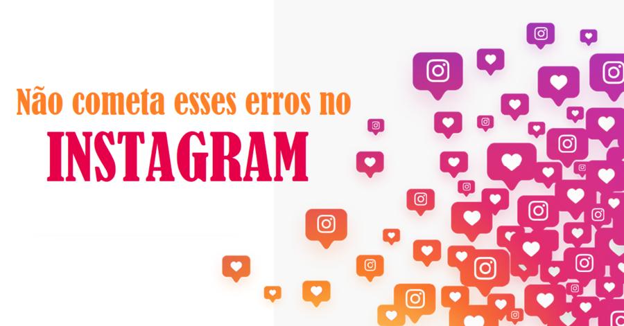 Erros no Instagram